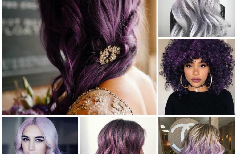 Цветные волосы 2017: новые оттенки и идеи